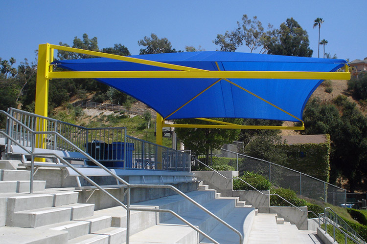 Full Cantilever Canopies & Fabric Shades | Davebang Inc